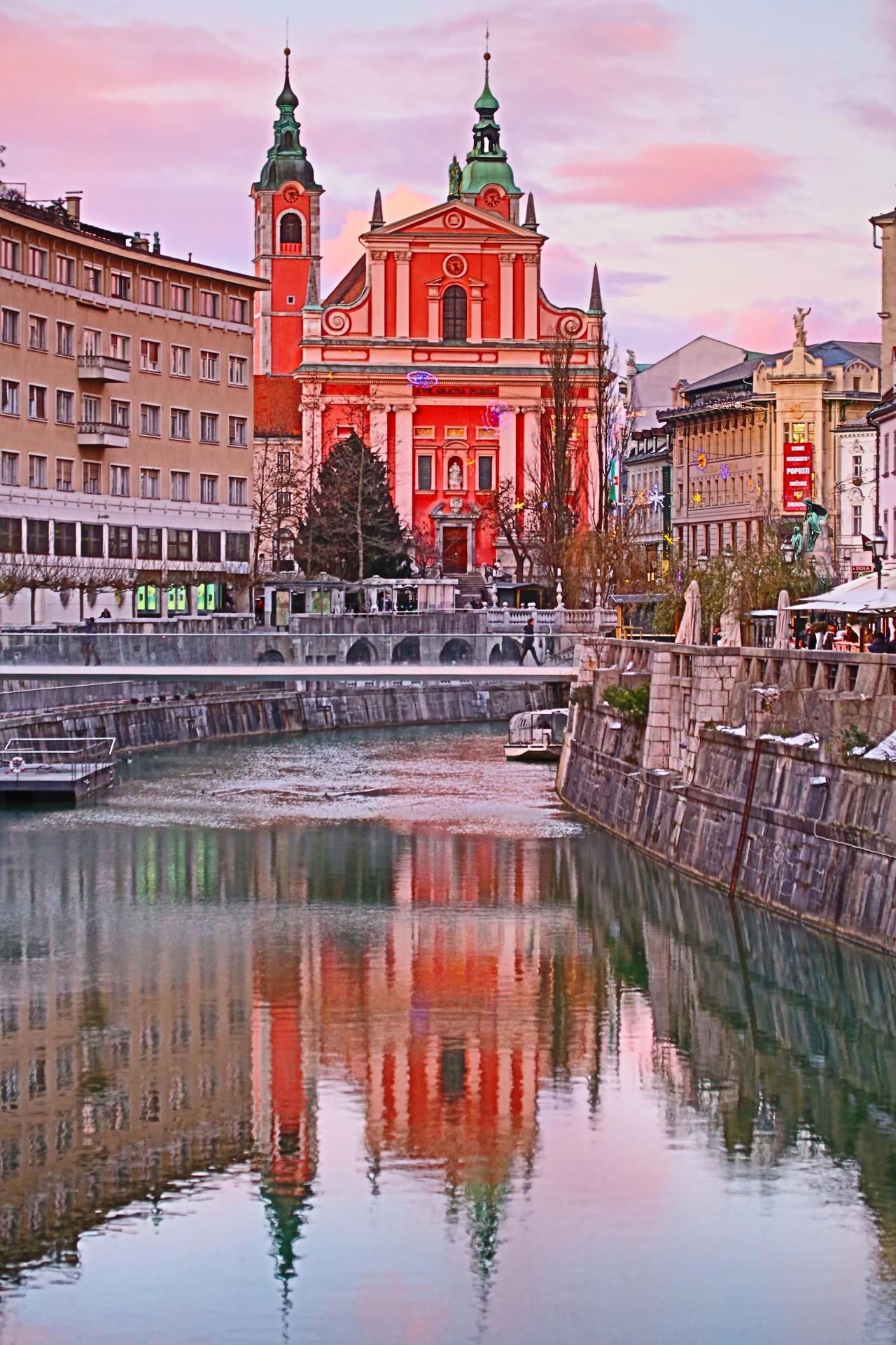 Ljubljanica  (in camera HDR) by luka567