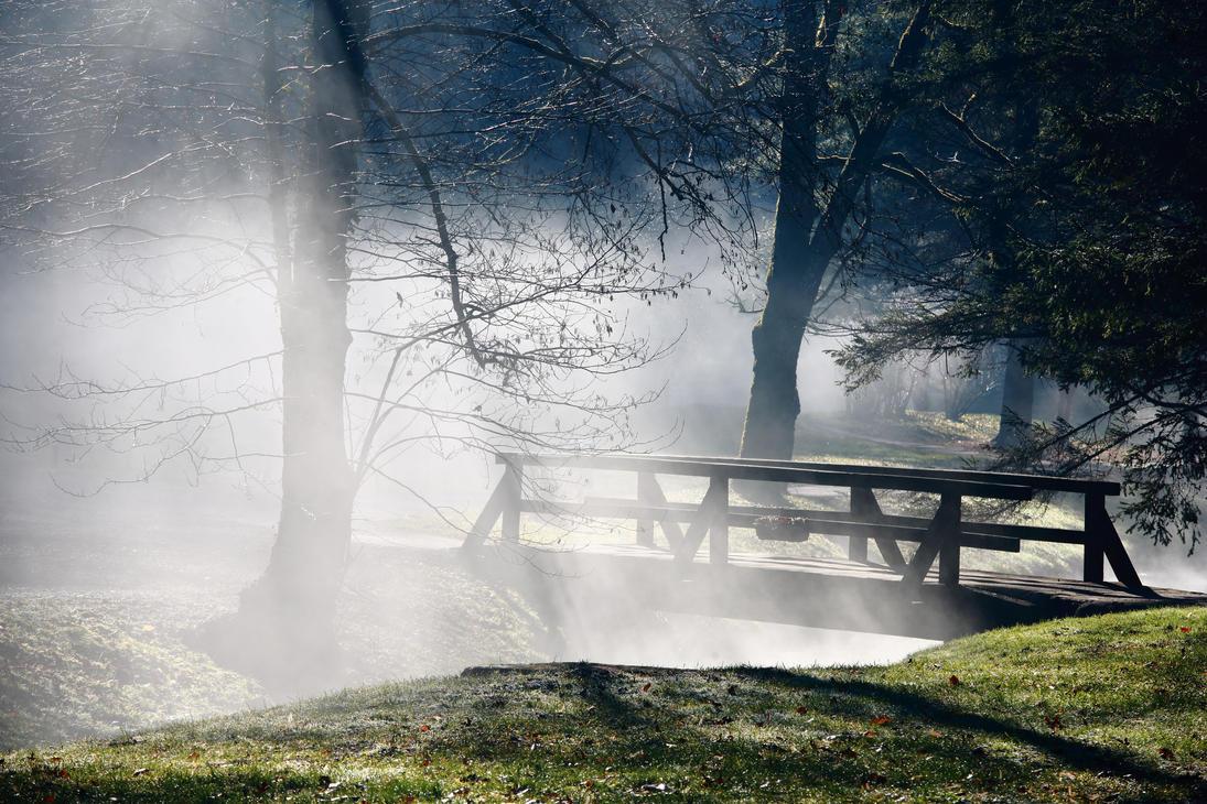Misty bridge by luka567