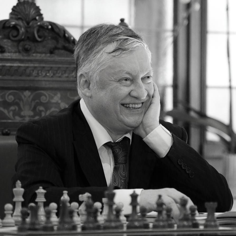 World chess champion and legend - Anatoly Karpov by luka567