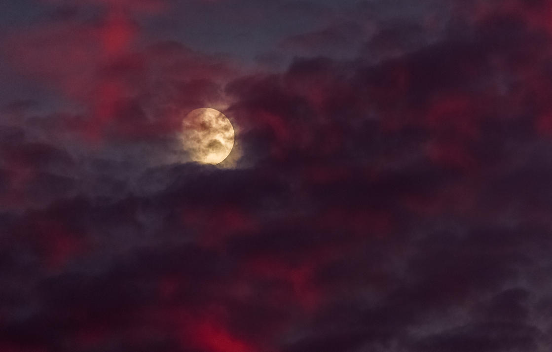 Bloody moonrise by luka567