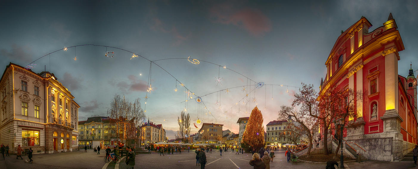 Lights in Ljubljana by luka567