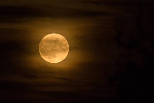 Full moon, 13. October 2019
