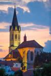Kapitelj - Church in Novo mesto