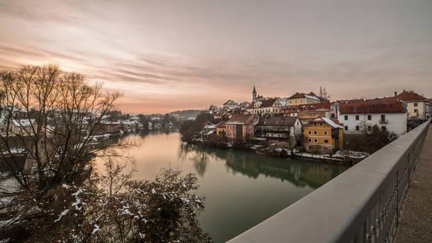 Beautiful old city of Novo mesto