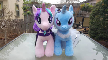 Great and Powerful Friends Starlight and Trixie by NeysaNight