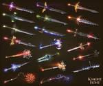 Knightfight weapons 1
