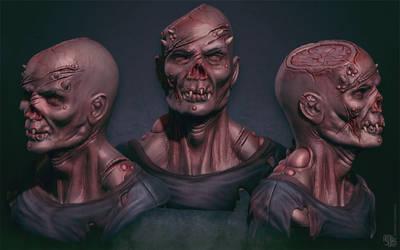 Zombi Demon sculpt