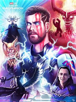 Thor Ragnarok Fanart