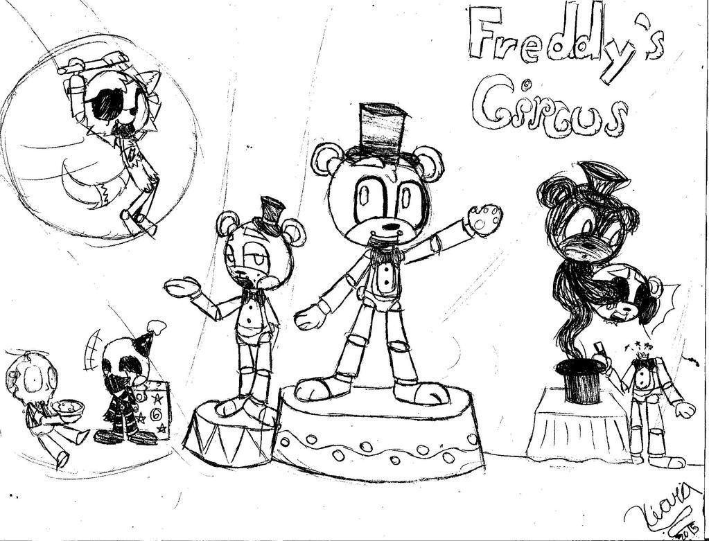 Freddy's circus by charachan0708