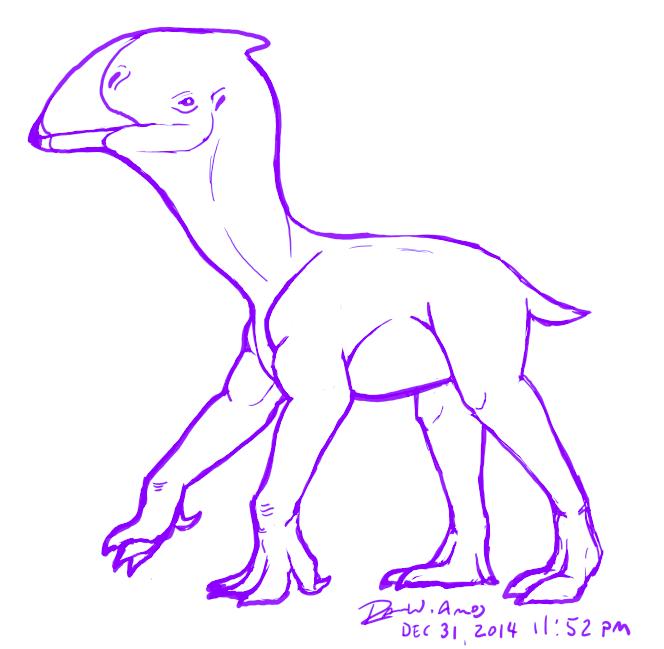 Gorwydd - speculative flightless pterosaur by raven-amos