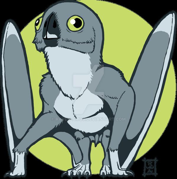 Cheeky Anurognathus TeeSpring Shirt by raven-amos