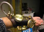 left brace sp on arm by SteamPunk-Creator