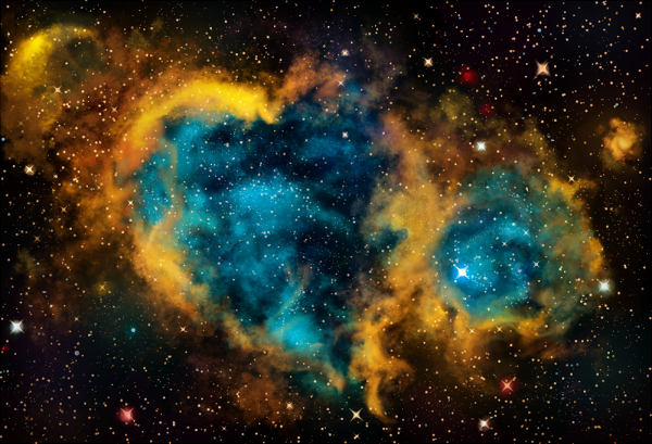 The Heart and Soul Nebula by Am1Dark on DeviantArt