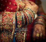 wedding hands...