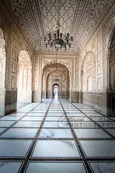 Badshahi Masjid - inside view
