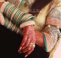 wedding hands - V
