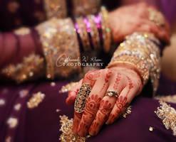 wedding hands - XIII