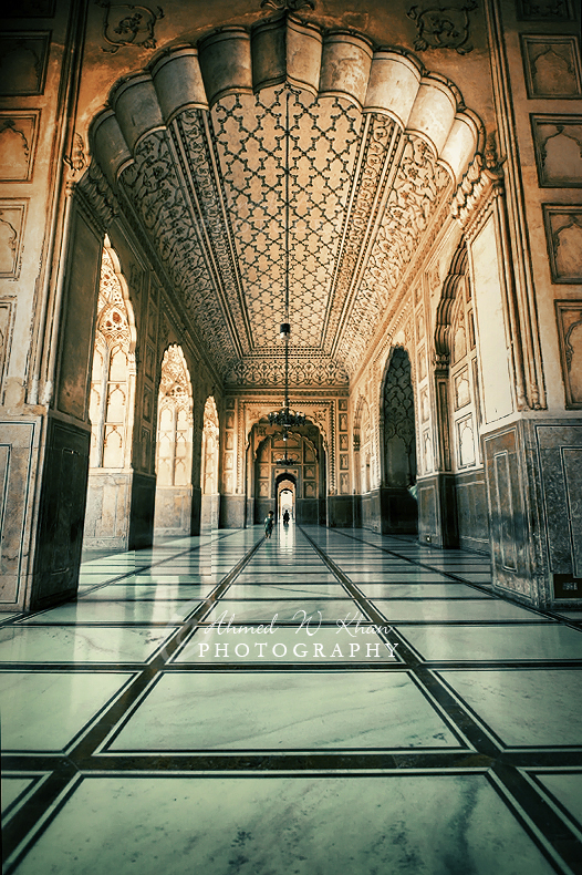 Badshahi Masjid - inside view II by ahmedwkhan on DeviantArt