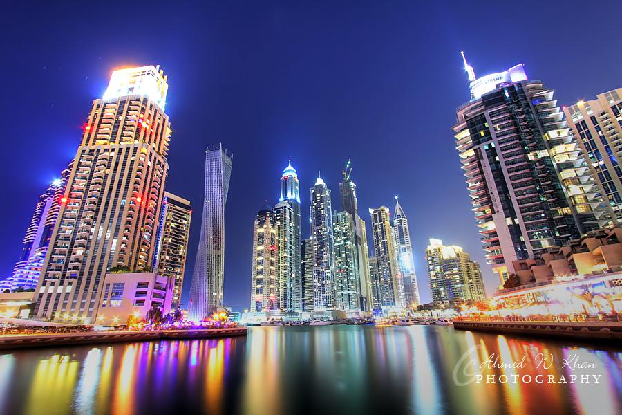 Dubai Marina by ahmedwkhan