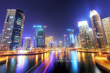 Dubai Marina - II by ahmedwkhan
