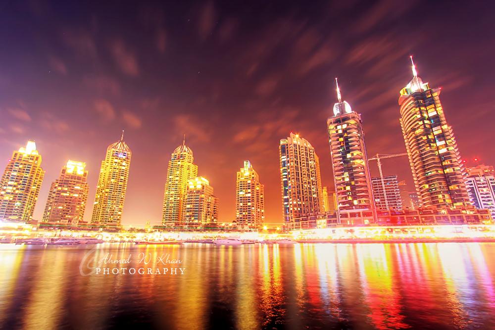 Dubai Marina - III by ahmedwkhan