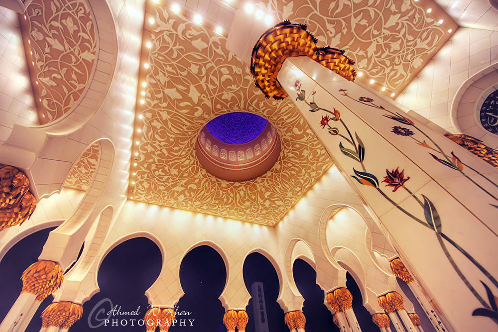 Sheikh Zayed Grand Mosque - V by ahmedwkhan