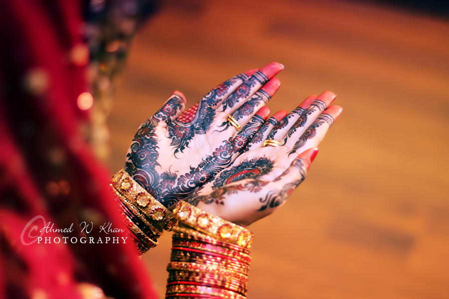 Wedding Hands by ahmedwkhan