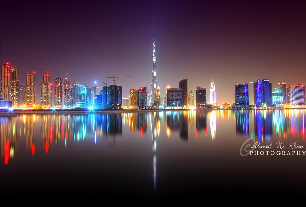 D Art Exhibition Dubai : Dubai skyline by ahmedwkhan on deviantart