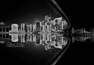 Dubai Reflections by ahmedwkhan