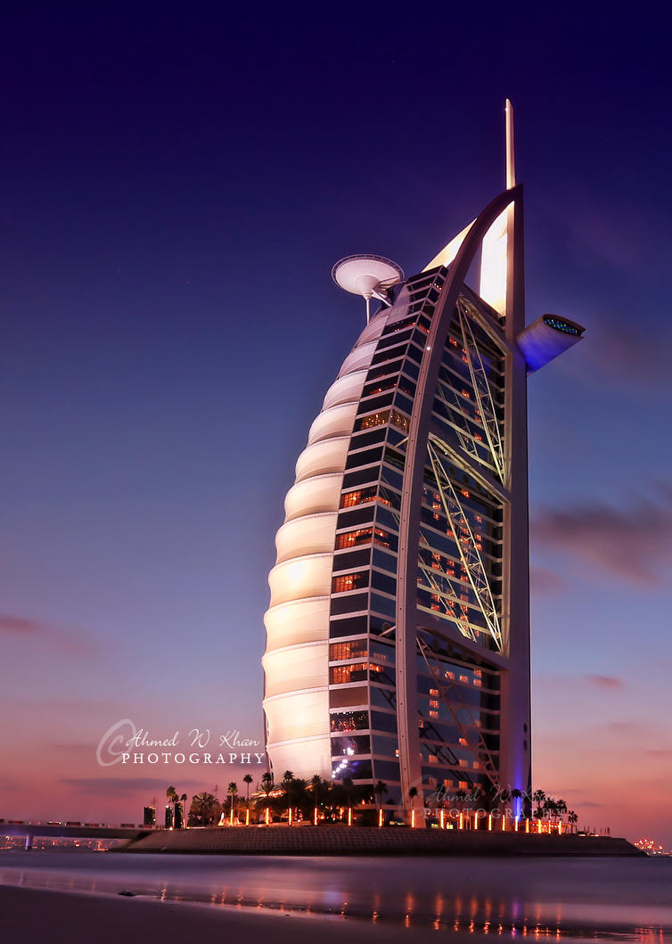 Amazing Burj al Arab by ahmedwkhan