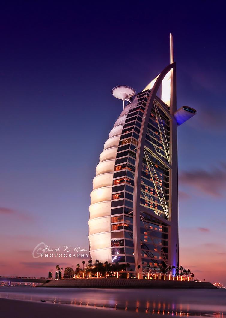 Amazing Burj al Arab by ahmedwkhan