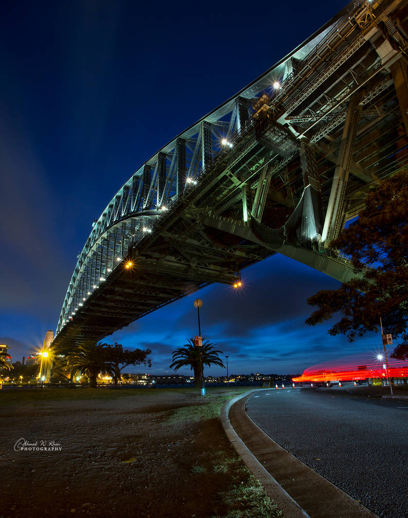 The red light trails by ahmedwkhan