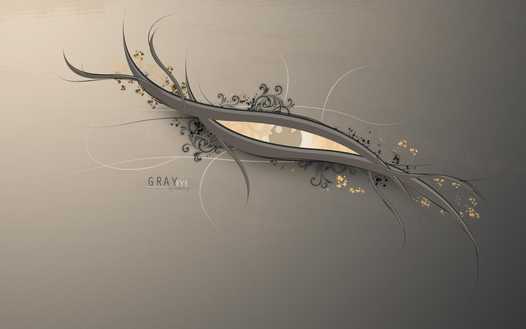 Gray eye by Silencesys