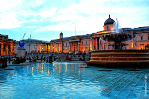 Trafalgar Square London 041406 by meriwani