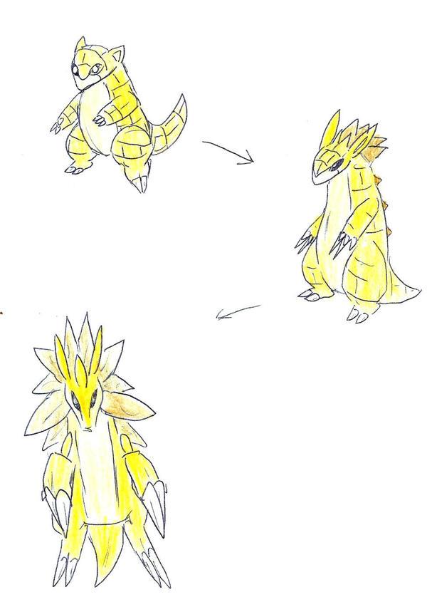 Pokemon Sandshrew Evolution Images | Pokemon Images