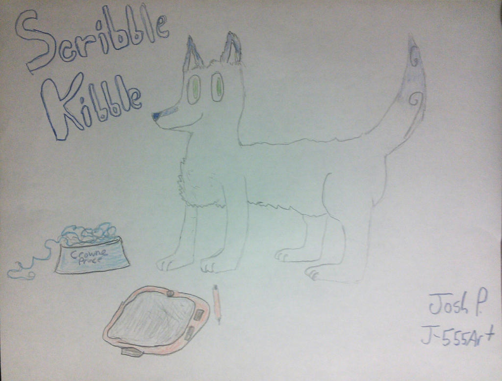 Welcome to Scribble Kibble! (Fanart) by J-555ART