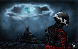 Kingdom Hearts Dark Warrior by MelonieMac