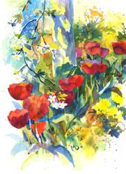 Plein Air. Tulips 2 by Last-Valentine