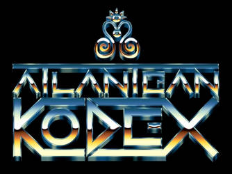 Atlantean Kodex - Eighties Chrome Logo by Bulletrider80s