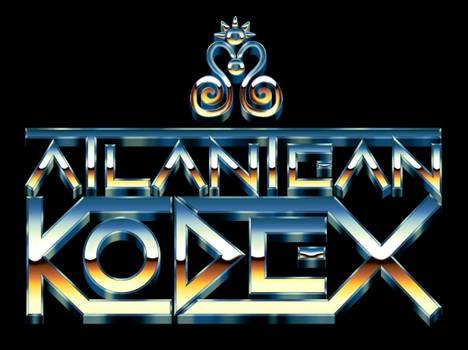 Atlantean Kodex - Eighties Chrome Logo