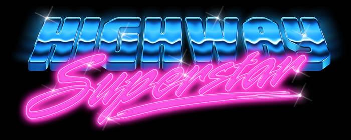 Eighties Logo - Highway Superstar