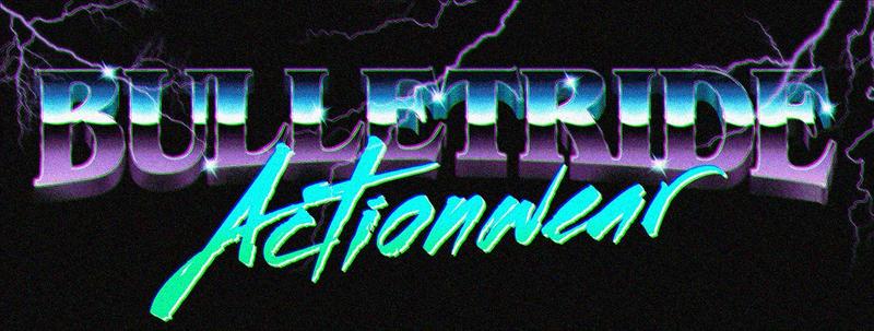 80s Retro Chrome Logo by Bulletrider80s