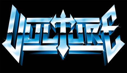 Vulture - 80s heavy metal logo