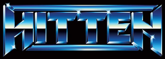 Hitten - 80s chrome heavy metal logo by Bulletrider80s