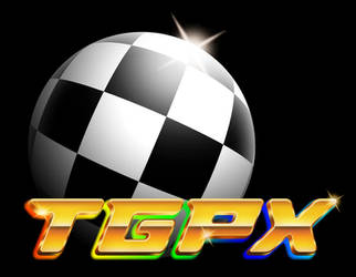 TGPX Tomb Busters - 90s chrome logo by Bulletrider80s