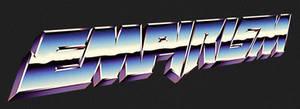 80s chrome logo artwork - EMPIRISM