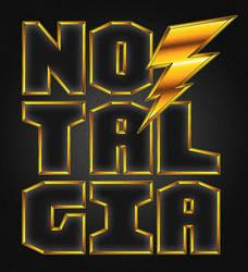 80s Nostalgia Logo
