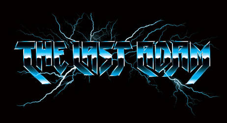 80s like chrome and lightning logo: The Last Adam