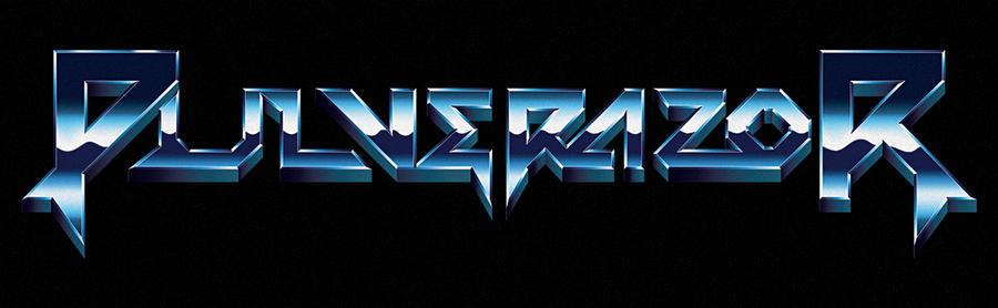 80s heavy metal logo - Pulverazor
