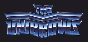 80s chrome logo - The Unibrows